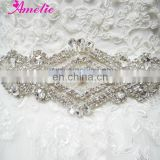 A5S202 Rhinstone And Crystal Bridal Belts And Sashes