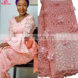 Top selling African Lace Fabric laser cut lace Guangzhou African Lace Embroidery Fabric