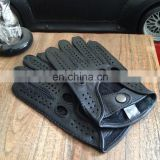 Wholesale custom mens leather driving gloves