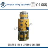 Hydraulic strand jack system|Strand jacking is pre-fabricated building sections are carefully lifted and precisely place