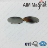 Thin disk neodymium magnet n35 nickel-coating