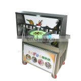 Fast Freezing Thailand Fry Ice Cream Machine With Strong Compressor from minsta machine