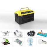 48000mAh Lithium Ion battery pack portable power station with inverter For outdoor camping hiking fishing