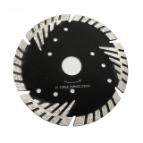 Tiger Segmented Turbo Sandstone Granite Cutting Blade Disc Black