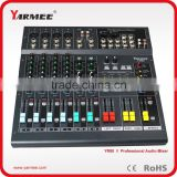 8 Channels Professional Mini Audio Mixer sound console YM80 --YARMEE                                                                         Quality Choice