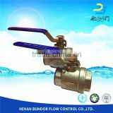 Thread Cf8M Ball Valve Handle Lock