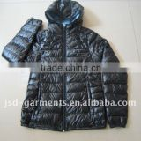 mens black shiny padded jackets ,2012 Winter Season