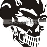 Skull mobile phone sticker printer//cell phone case stickers//vinyl sticker for mobile phone
