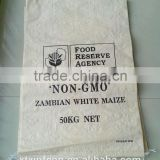 transparent pp bag bean sack pp soya bean oil woven bag exported to Benin