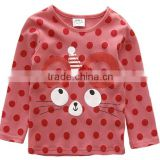 TF-02160620025 O-neck Long Sleeve T-shirt For Girls Boys Clothes Baby Children's Clothing For Boy Kids T Shirt