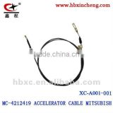 MITSUBISH ACCELERATOR CABLE auto cable hebei factory MC-4212419MITSUBISH ACCELERATOR CABLE auto cable hebei factory MC-4212419