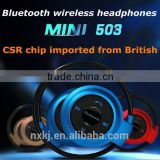 2015 China Manufacturer Wholesale Cheap bluetooth wireless headphones microphone for used mobile phone