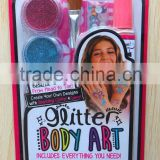 BEAUTY PARTY BODY GLITTER ART SET