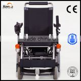 foldable Aluminum Power Wheelchair for elderly and handicapped