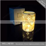 ceramic fragrance oil burner in round shaped