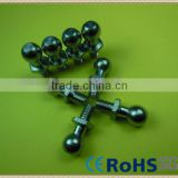 Hot Sale! Ball Head Full Thread Screw With Hex Washer