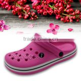 Classic CLOGS pink and navy breathable sandals