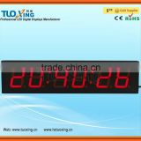 4 inch 6 digits LED digital electronic temperature controller with timer
