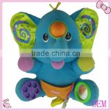 Hot selling stuffed plush elephant toy for babies