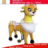 Shopping mall coin operated animal mechanical horse ride for Asia/ Africa/America market