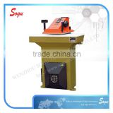 Xc0153 Xiongying hydraulic swing arm leather/sole/eva/carpet/plastc atom die cutting machine with CE/GSG/ISO9001