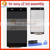 LCD Digitizer Lens Assembly For Sony Xperia Z2 D6502 D6503 D6543 Sirius Black