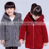Baby Girls Kids Soft Fleece Winter Warm Jacket Hood Coat Snowsuit Outwear OEM ODM Type Factory Manufacturer Guangzhou