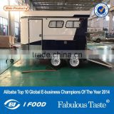 China imported Trailer ,Horse Angle Load Front Tack Box,ALU awning Horse Float