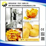 Dual use automatic frozen French fries/potato chips making machine/production line/processing plant