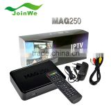 2015 Best MAG250 MAG 250 Arabic Indian Europe Linux IPTV TV Box 1000+ Channels APK Download IPTV Set Top Box