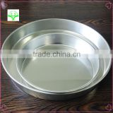most popular now high quality biscuit pan economical round cake mold aluminum made in china