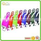 Foldable shopping cart luggage cart easy to carry shopping trolley bag