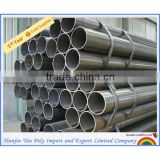 ERW carbon steel pipe tube from tianjin manufacturer