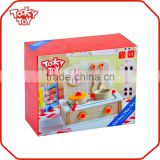 Girl Kids Happy Play Toys Cultery Sets Children The Wooden Toy                                                                         Quality Choice
