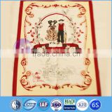 wholesale plain white cotton tea towel printing