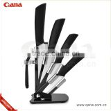 Hot selling 5pcs Black Blade Ceramic Knife Set                                                                         Quality Choice