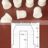 China factory custom silicone rubber plug& end cap&bottom sub&core plug