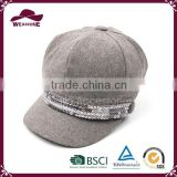 Alibaba China most popular grey french hat beret hat for sale