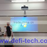 Hot sale Defi FINGER 10 POINTS TOUCH PORTABLE INTERACTIVE WHITEBOARD