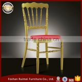 Hot sale classy metal banquet hall chiavari chair made in China
