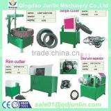 Tire recycling machinery advanced technology good quality waste tire strip cutting machine