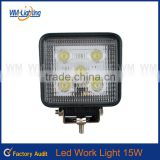 Cheap 15W LED WORK LIGHT WORK LAMP LED Led working light &headlight car /trunk /vehicle parts