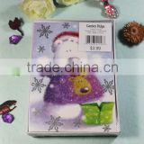 Cute cartoon gift card box set , greeting card