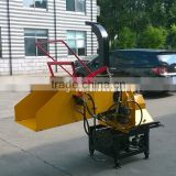 High quality Tractor PTO driven Wood chipper with Hydraulic pump and oil tank