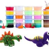handprint air dry clay modelling dough,super light clay,diy polyresin toy.play diy colorful modeling clay for kids