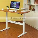 2D Multifunctional Ergonomic Electric Adjustable Height Standing Desk or Table or Workstation with CE UL