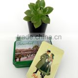 high quality souvenir tin photo magnet set with gift box attractive design colorful tin photo magnet gifts