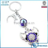 Butterfly Shape Style Animal Keychains Blue Eye Keyrings for woman