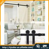 Sliding barn door hardware carbon steel wood sliding door sliding roller