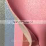 2016 100% popular cheap soft napa release paper synthetic leather fabric nappa pvc leahter pu artificial leather for handbag